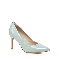 Clarks - Aqua leather 'Dinah Keer' high court shoes