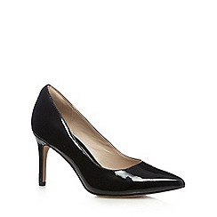 Clarks - Black leather 'Dinah Keer' high court shoes