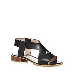 Clarks - Black 'Bless Meadow' sandals