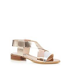 Clarks - Metallic 'Bliss Meadow' sandals