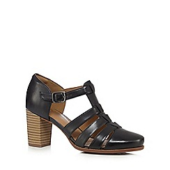Clarks - Black 'Ciera Gull' high sandals