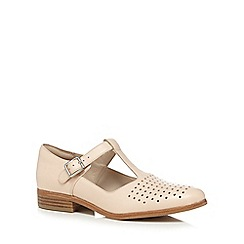 Clarks - Pale pink 'Hotel Vibe' shoes