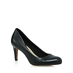 Clarks - Black 'Carlita Cove' high heel court shoes
