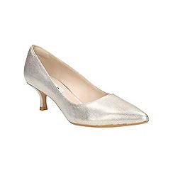 Clarks - Champagne Aquifer Soda court shoe