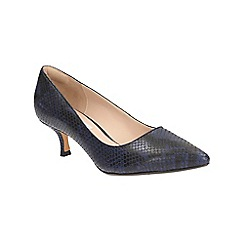 Clarks - Navy Aquifer Soda court shoe