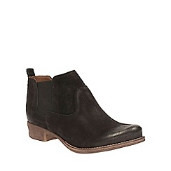 Clarks - Black leather Colindale Ritz Chelsea boot