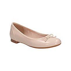 Clarks - Nude pink Couture Bloom ballerina pump