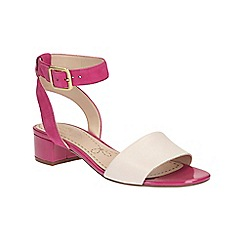 Clarks - Fuchsia Sharna Balcony ankle strap heeled sandal