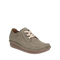 Clarks - Sage nubuck Funny Dream lace up shoe