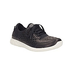 Clarks - Black Seremene Lace, lace up shoe