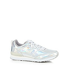 Skechers - Silver 'Retrospect' trainers