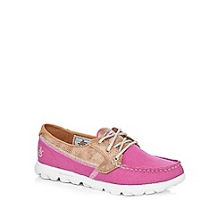 Skechers - Pink 'On the Go Breezy' lace up shoes
