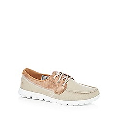 Skechers - Beige 'On the Go Breezy' lace up shoes