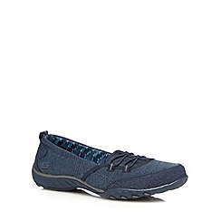 Skechers - Navy 'Breathe Easy' trainers