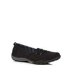 Skechers - Black 'Breathe Easy' trainers
