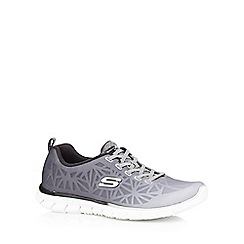 Skechers - Grey 'Glider' ombre-effect trainers