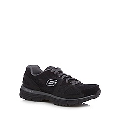 Skechers - Black 'Agility' trainers