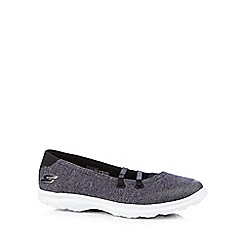 Skechers - Navy 'Go Step - Pose' slip on trainers