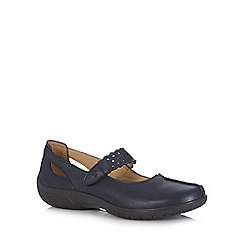 Hotter - Dark blue 'Madison' shoes