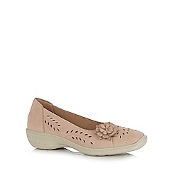 Hotter - Taupe 'Mexico' slip-on shoes