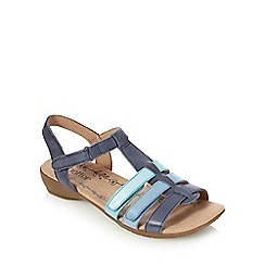 Hotter - Navy 'Leeward' sandals