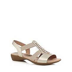 Hotter - Tan 'Montserrat' casual sandals