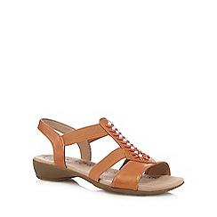 Hotter - Light gold 'Montserrat' casual sandals