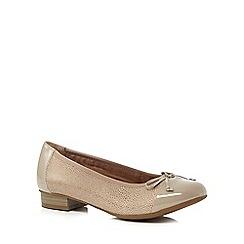 Hotter - Grey 'Trinity' slip-on shoes