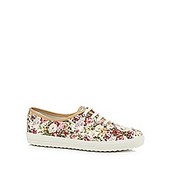 Hotter - Multi-coloured floral print trainers