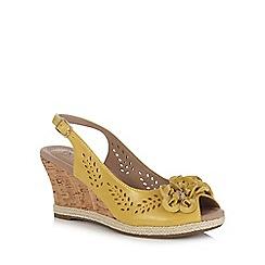 Hotter - Black 'Hattie' wedge heels