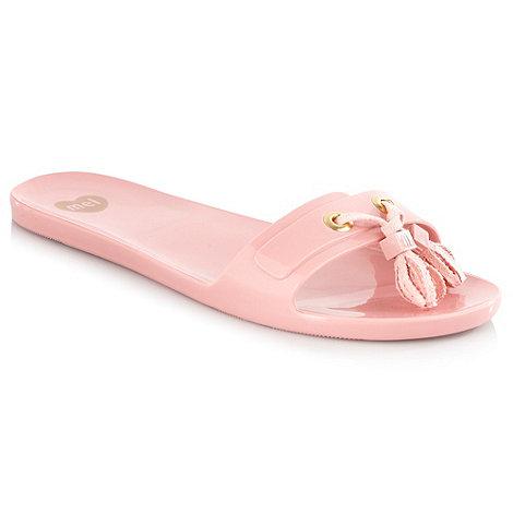 Mel - Light pink +citrus ii+ flip flops