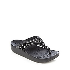 Crocs - Black 'Sloane' sandals