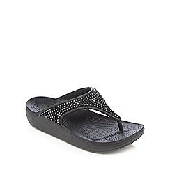Crocs - Black 'Sloane' sandals
