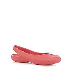 Crocs - Coral slingback sandals