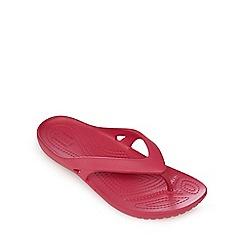 Crocs - Navy 'Kadee II' flip-flops