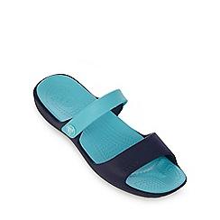 Crocs - Blue strap sandals