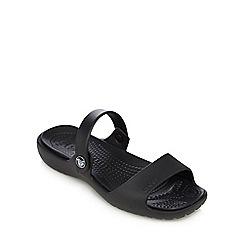 Crocs - Black strap sandals