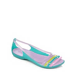 Crocs - Teal 'Isabella' jelly sandals