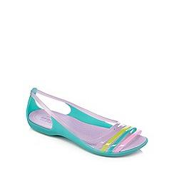 Crocs - Teal 'Isabella' jelly sandals