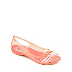 Crocs - Pink 'Isabella' jelly sandals