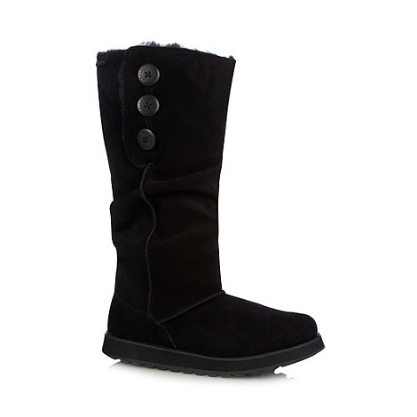Skechers - Black +Keepsakes - Brrrr+ pull on boots