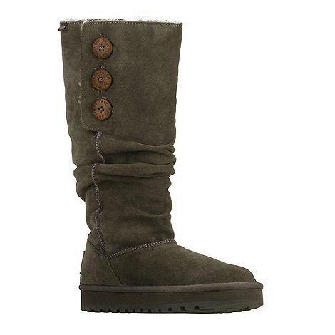 Skechers - Chocolate suede mid calf boots
