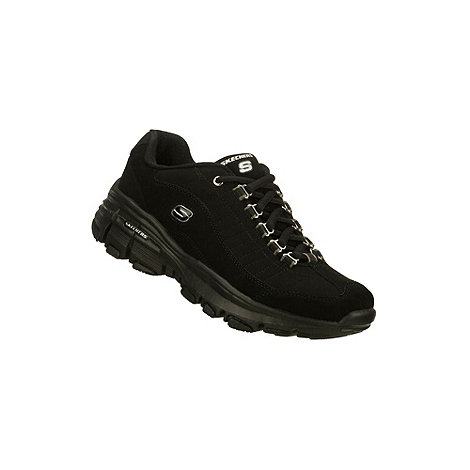 Skechers - Black +Bravos - Unstoppable+ lace up trainers