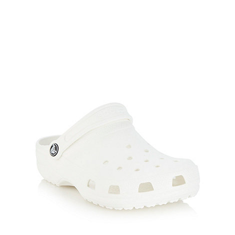 Crocs - White essential clogs