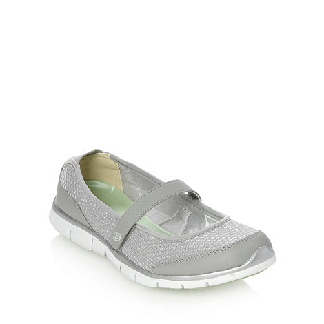 Skechers - Grey +gratis+ pumps
