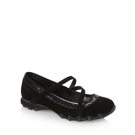 Skechers - Black +bikers guest list+ pumps