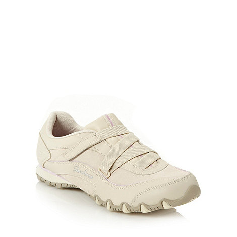 Skechers - Natural +bikers z-strap+ trainers