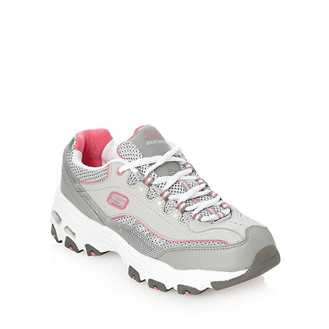 Skechers - Grey +d-lites+ trainers