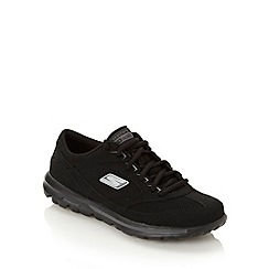 Skechers - Black 'go walk enlighten' trainers