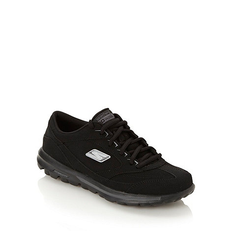 Skechers - Black +go walk enlighten+ trainers